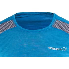 Norrøna Bitihorn Wool T-Shirt Herren hot sapphire